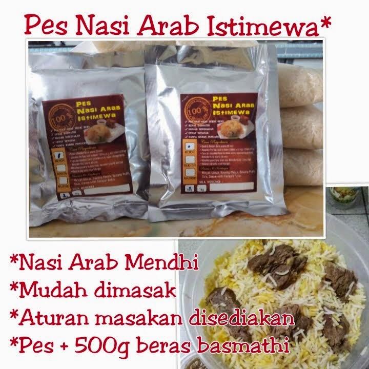 Pes Nasi Arab Istimewa (Mendhi)