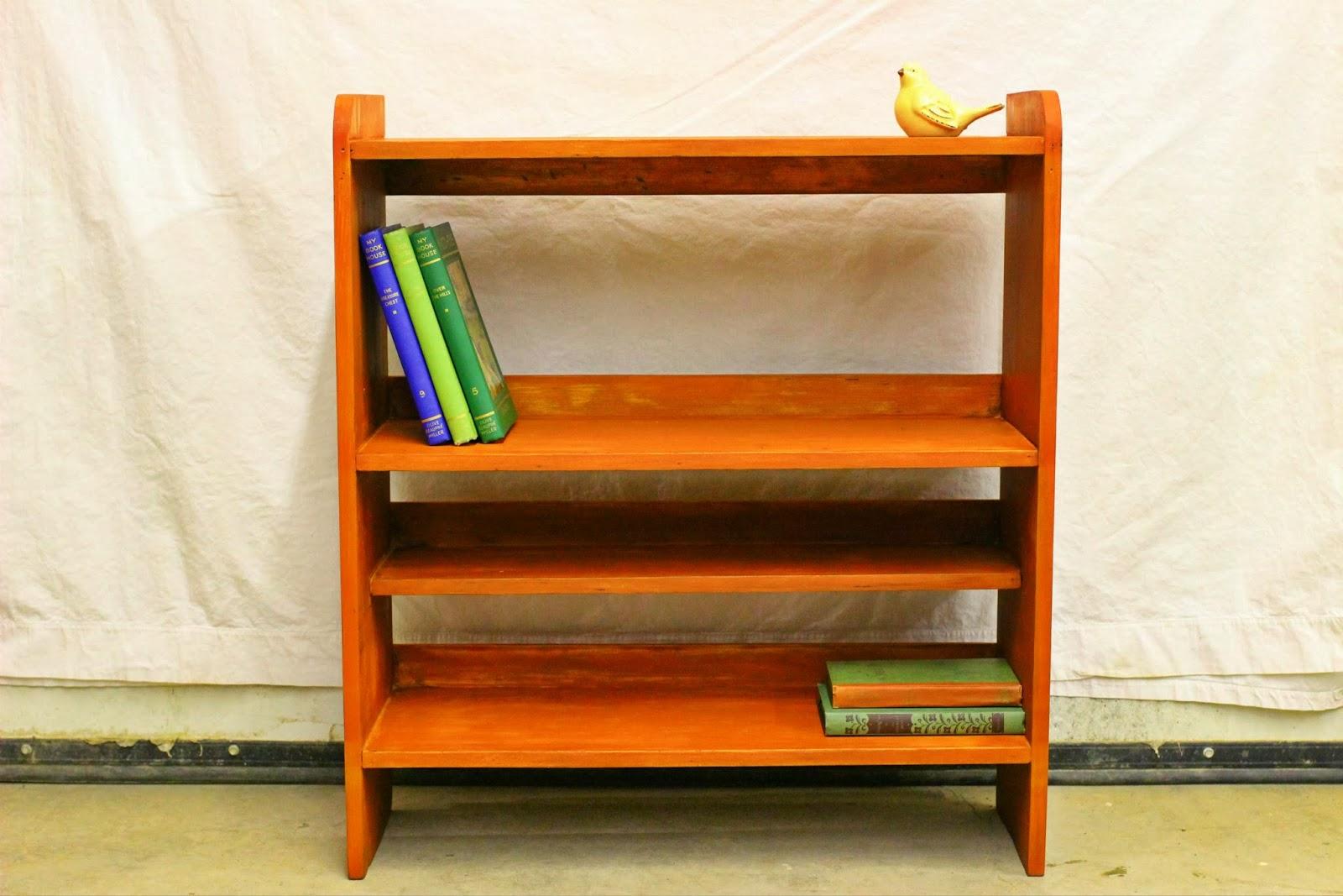 Hamiltonkijijica C Buy And Sell Furniture Bookcases Shelving Units Orange Rustic Bookshelf W0QQAdIdZ572627197