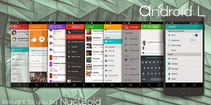 Custom ROM CyanogenMod Android Lollipop