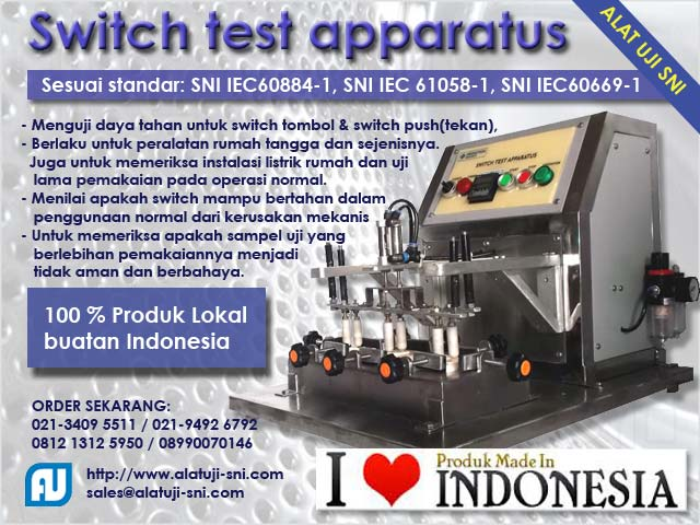 Switch Test Apparatus