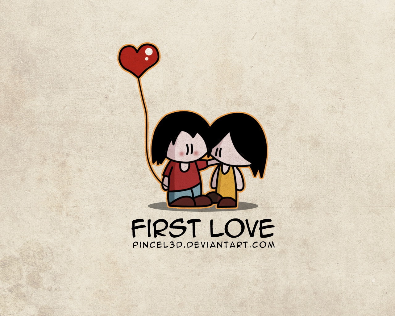 first love wallpaper