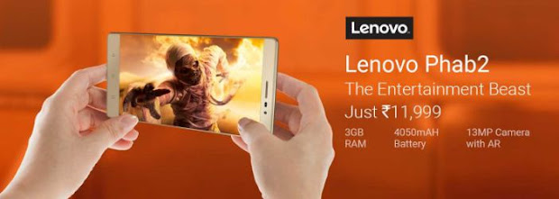 Lenovo Phab2 From Flipkart