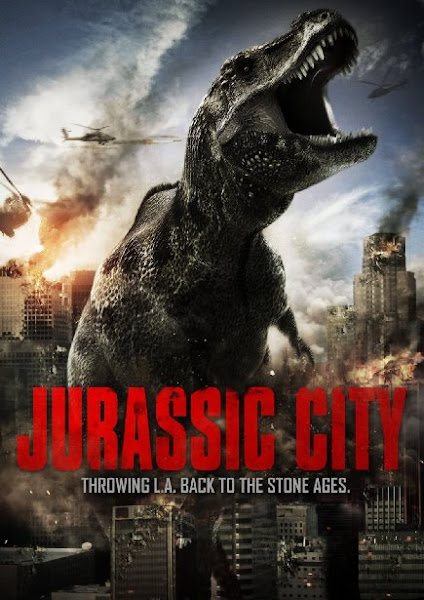 Poster of Jurassic City 2014 720p BluRay Dual Audio