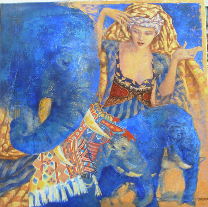 Catherine Chauloux 1957 | French Fantasy painter