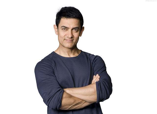 Beautiful Handsome Aamir Khan HD Wallpaper
