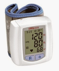 Santamedical wrist digital blood pressure monitor