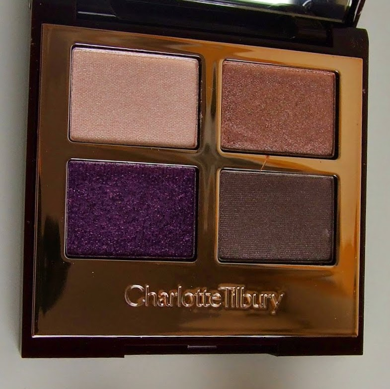 charlotte tilbury eyeshadow the glamour muse quad make-up