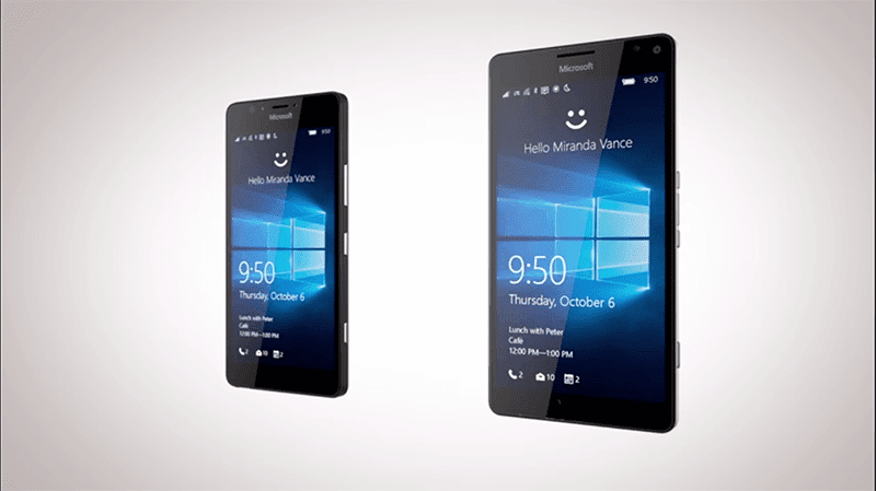 Microsoft Lumia 950 And 950 XL Also Launched! Can Also Perform Like A PC!