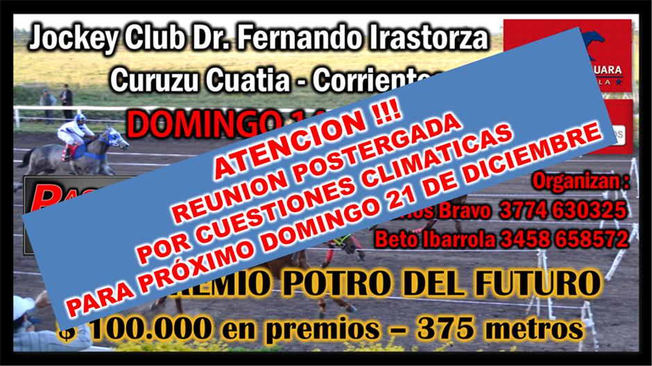 CURUZU CUATIA - 14 DIC.
