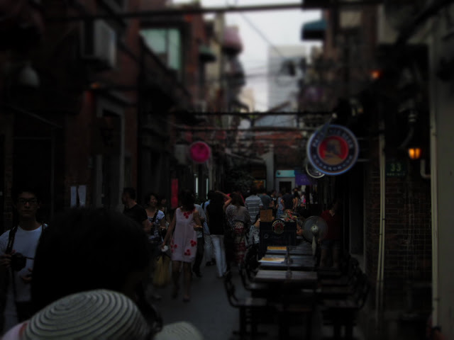 Callejas por la French Concession, Shangai.