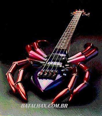 Guitarras curiosas e estranhas
