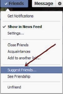 How to Suggest All Facebook Friends In One Click 2014 image photo