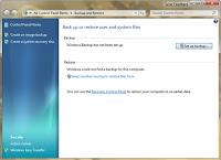 Mengatur Kapasitas Backup Dan Restore Pada Windows 7