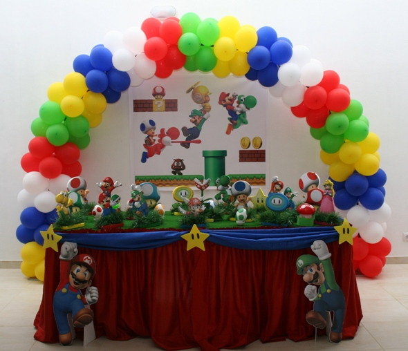 Festa Aniversario Super Mario Bros Decoracao 4  Car Interior Design