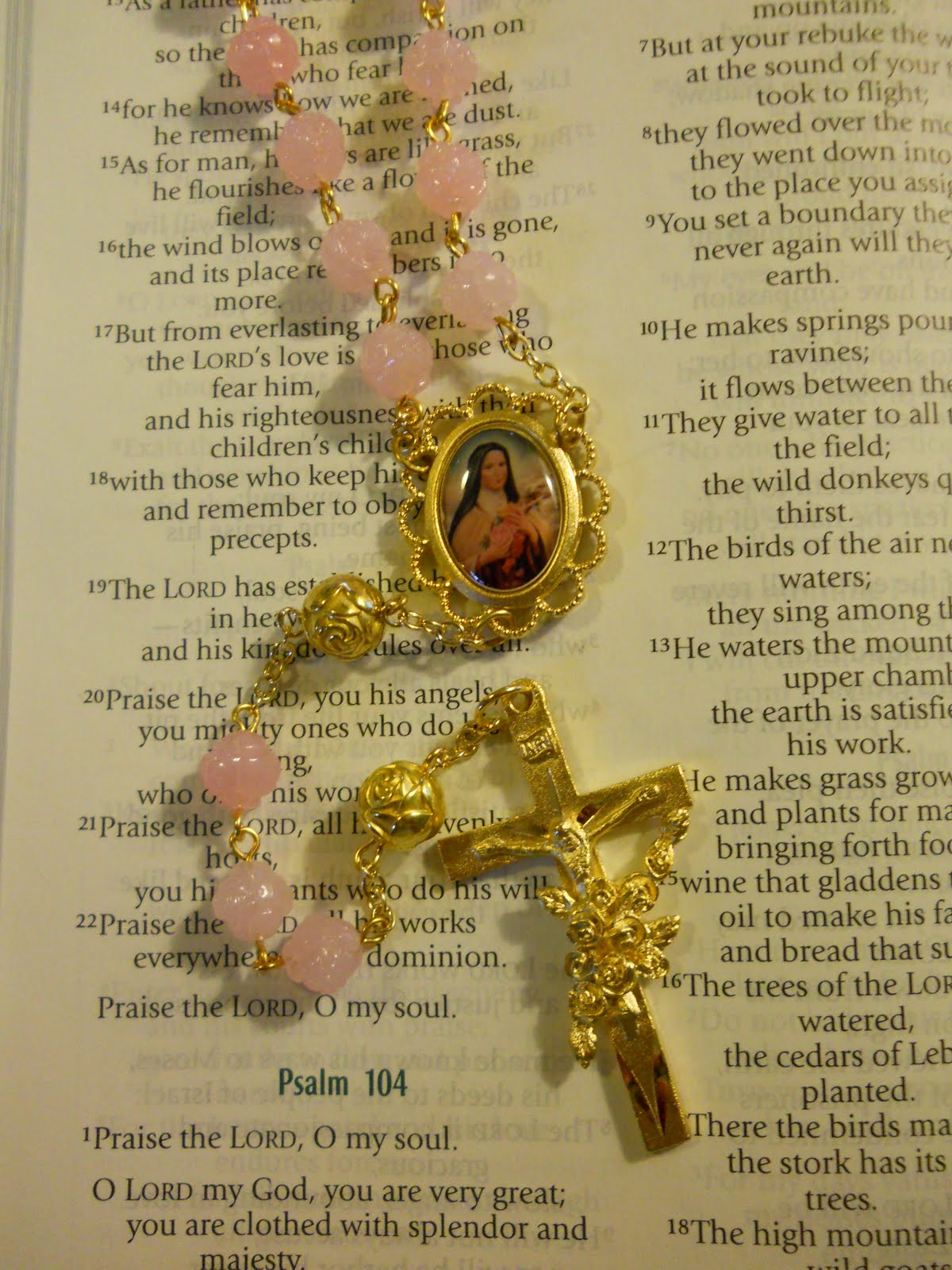 Patron Saint Rosaries St Therese of Lisieux