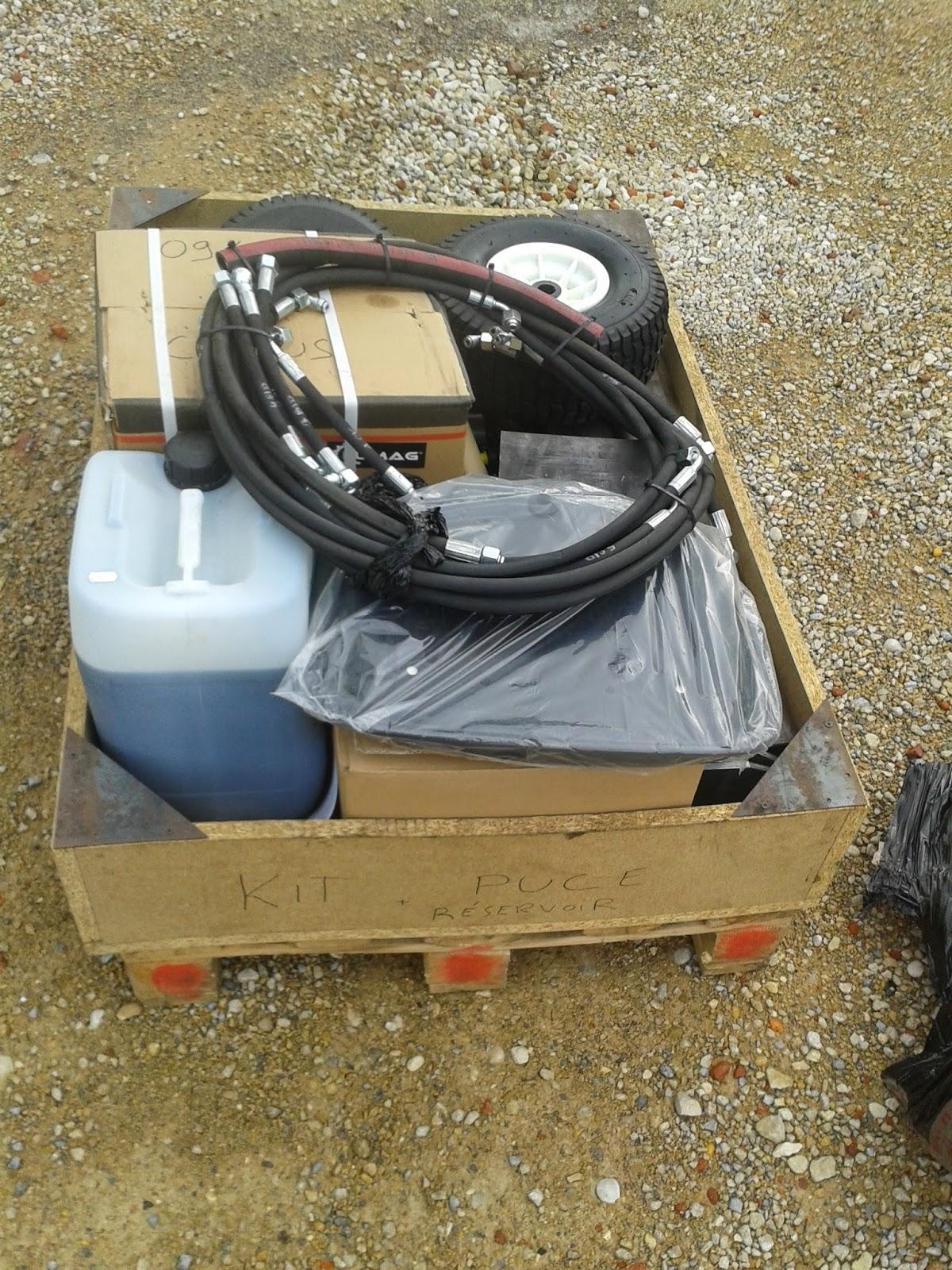 kit pelle hydraulique petite pelle