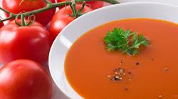 La deliciosa sopa de tomate que ofrece Leonor, semejante a la segunda de las Mil y una sopas.