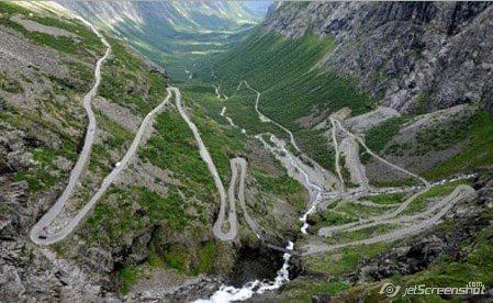 Escalera de Noruega