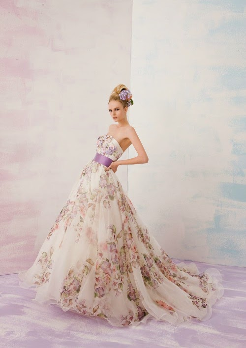 Bridal Snob Lovely Multi Color Wedding Dress From Wai