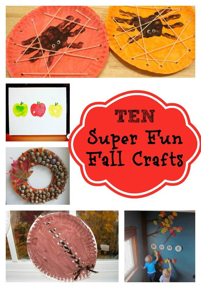 Huckleberry Love 10 Super Fun Fall Crafts For Kids Roundup