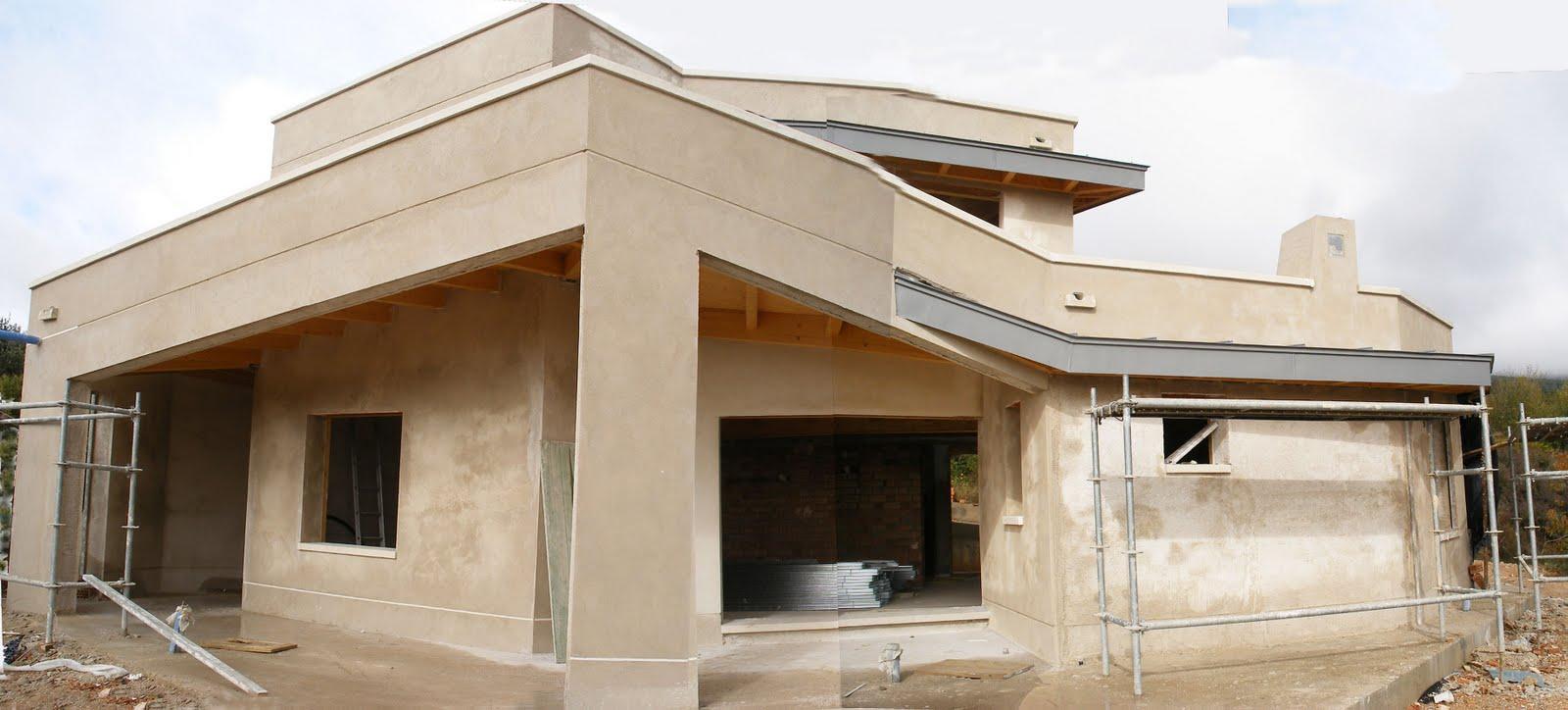 Construyendo la casa bioclim tica 12 construcci n 6b - Carpinteria casas ...