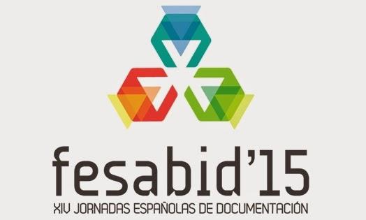 fesabid 2015. XIV jornadas españolas de documentación