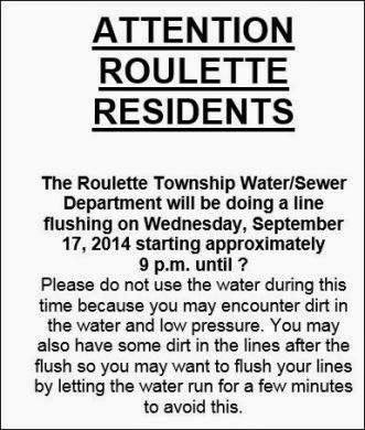 Attention Roulette Residents
