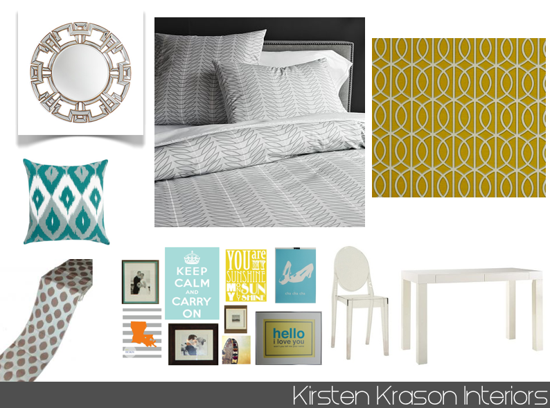 Yellow teal and grey bedroom some gray yellow and teal