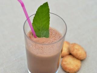 Milk-shake cacao,nutella