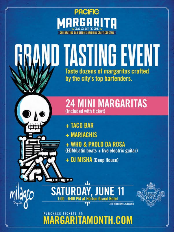 Save On Passes & Enter To Win Tickets To The Margarita Month Grand Tasting - June 11