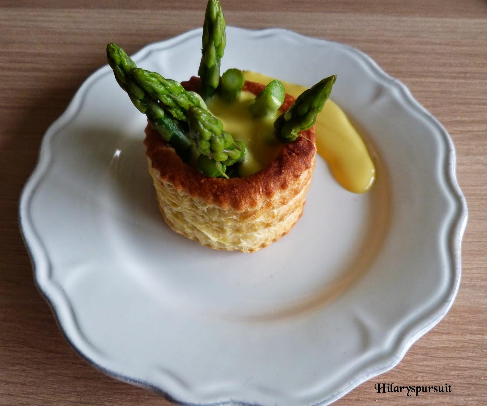 Dans la cuisine d 39 hilary sp cial p ques vol au vent aux - Cuisiner des asperges fraiches ...