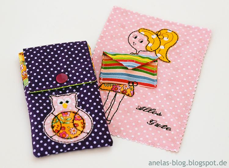 Handytasche und Geburtstagskarte