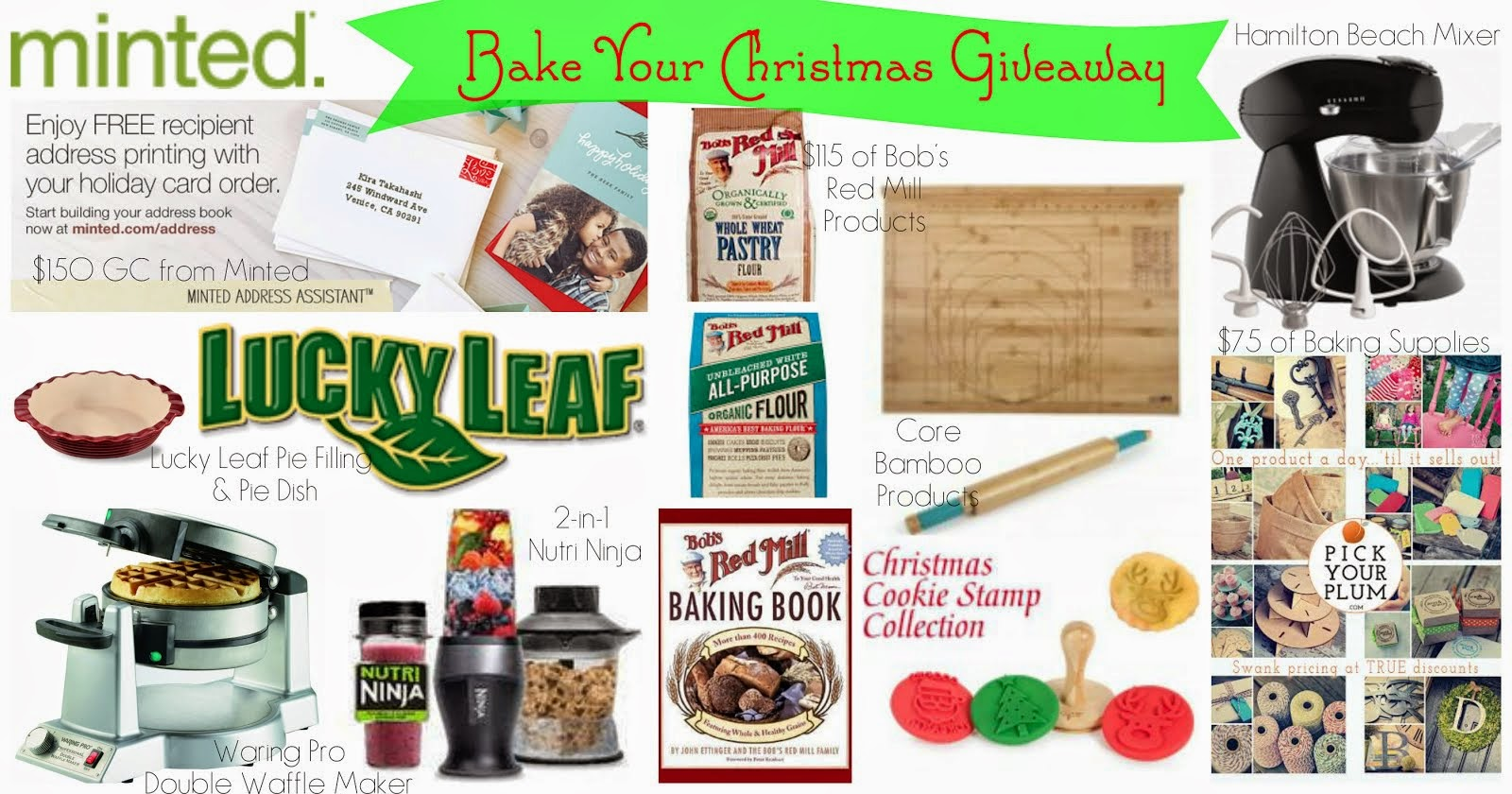 Enter to win the Bake Your Holiday Gifts Giveaway!