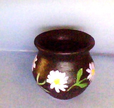 Anitakumarcrafts pot decoration for Art and craft pot decoration