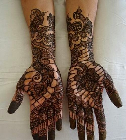 Very Beautiful Bridal Mehndi Designs : Mehndi designs for girls very special indian dulhan