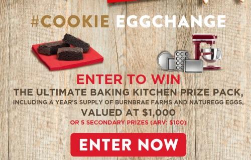 Burnbrae Farms Cookie Eggchange Contest