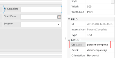 Assign CSS-class to SharePoint field