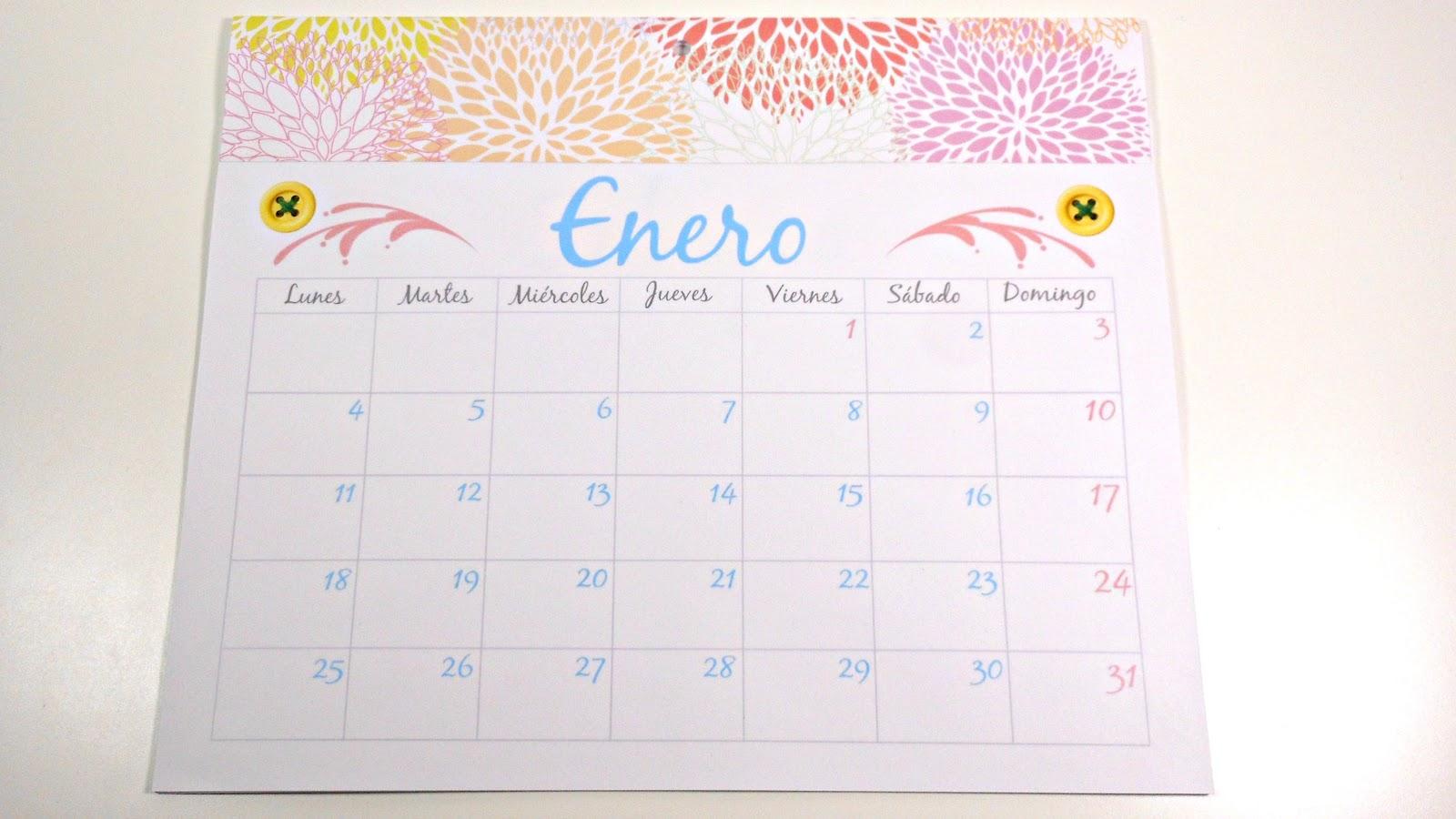 Mundo party c mo hacer tu propio calendario parte 2 - Como hacer tu propio calendario ...