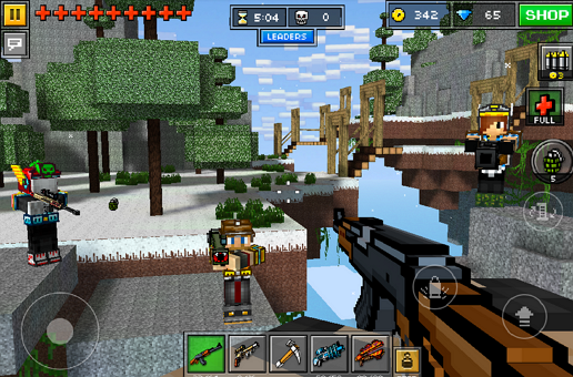 Pixel Gun 3D v9.3.0 Apk Mod [Unlimited Money]