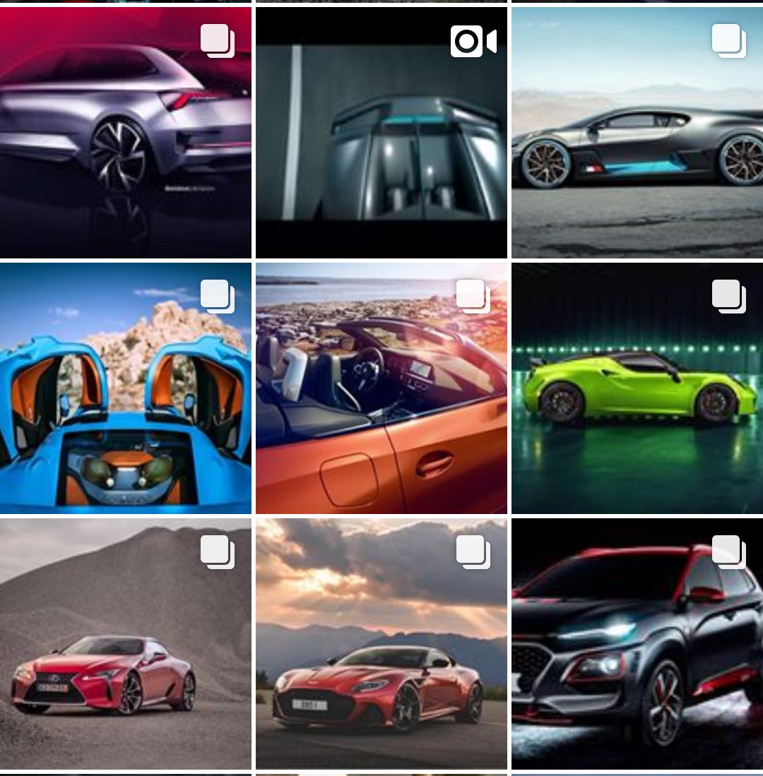 Instagram Correio Autos