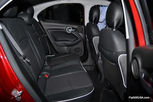 Fiat 500X Rear Seat