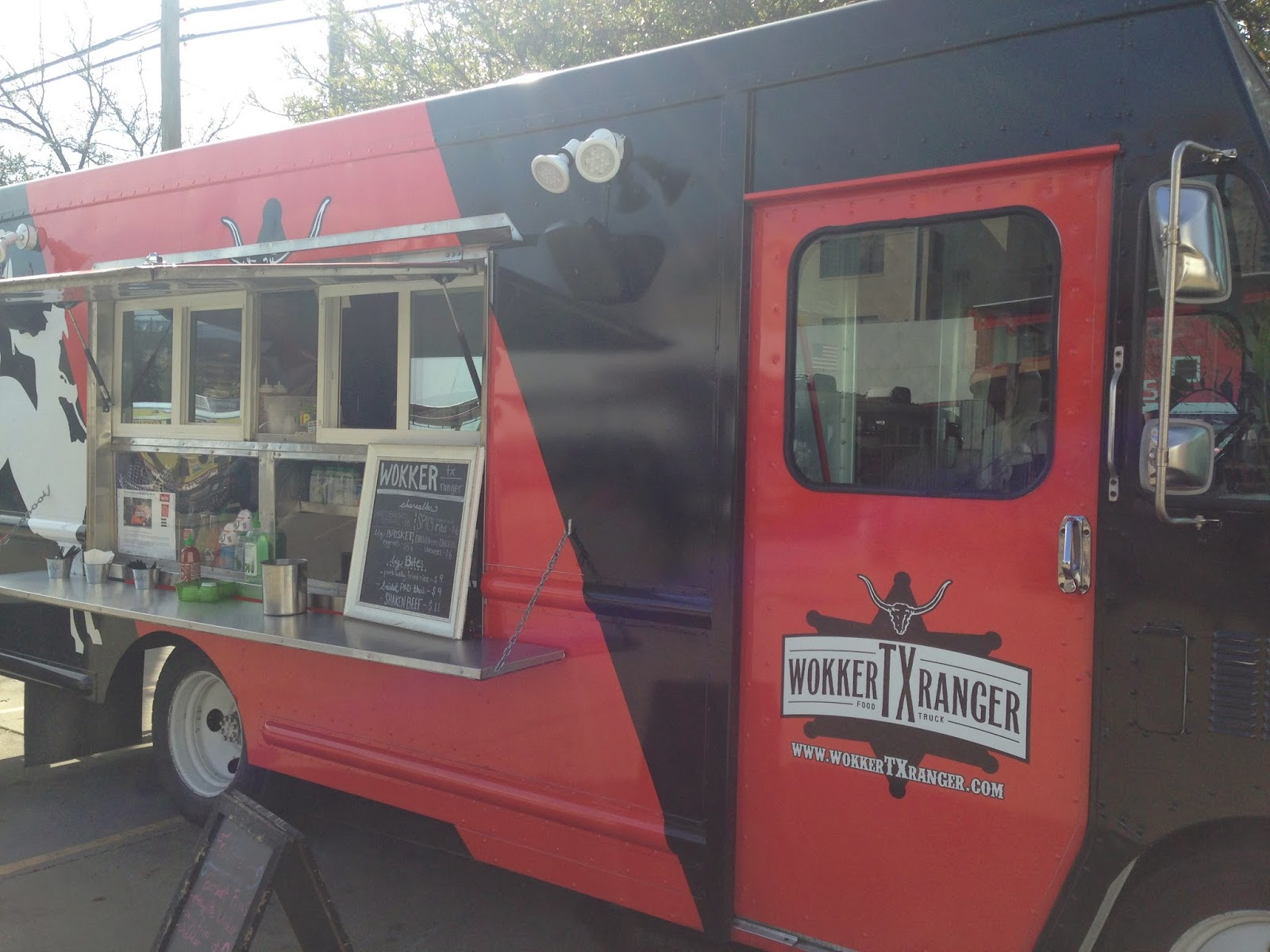 Wokker Texas Ranger Food Truck, Houston, TX