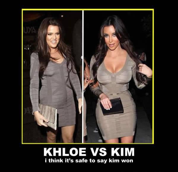 KHLOE VS KIM