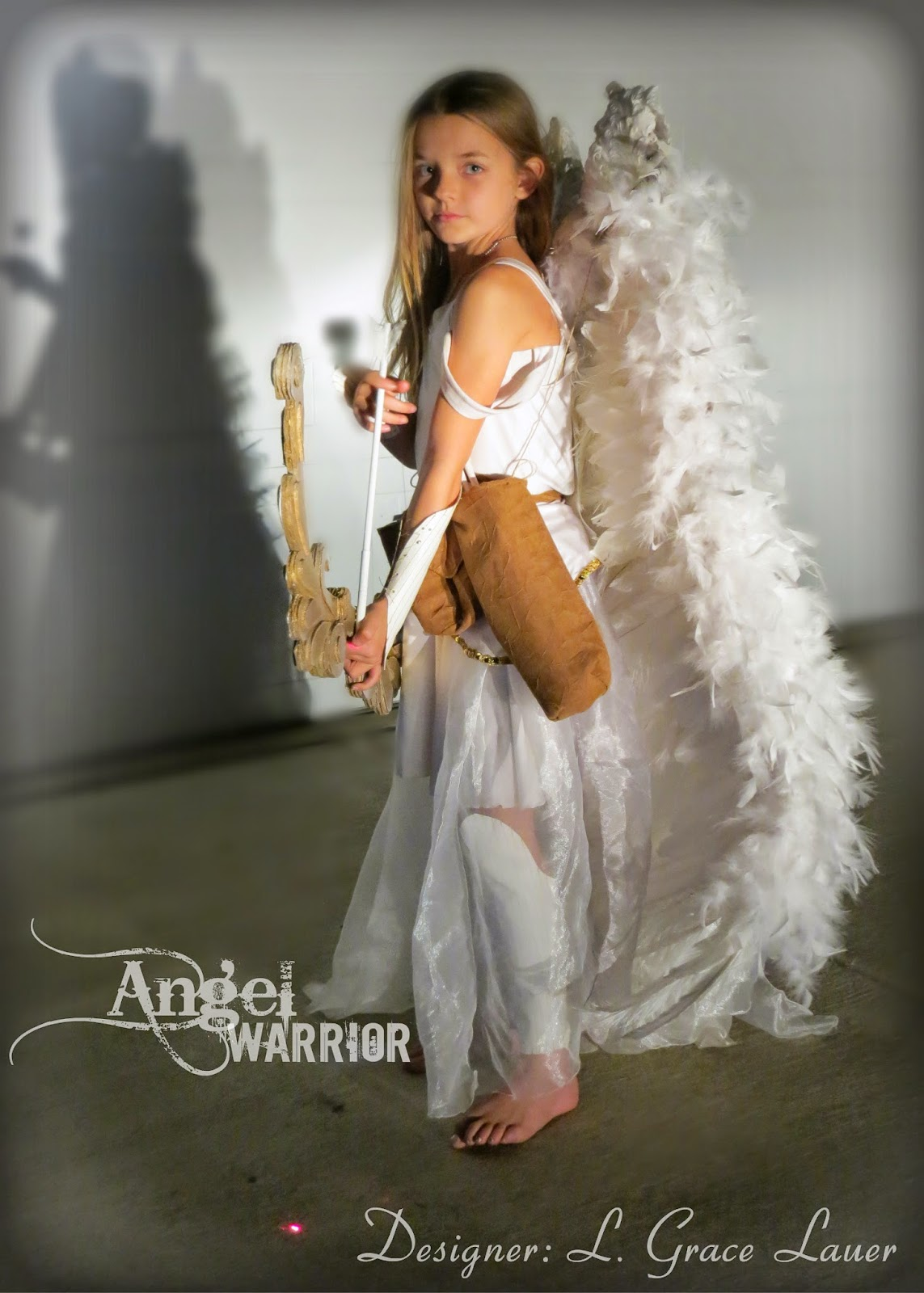 Uniquely Grace  sc 1 st  Uniquely Grace & Uniquely Grace: Angel Warrior Costume with Articulated Wings ...