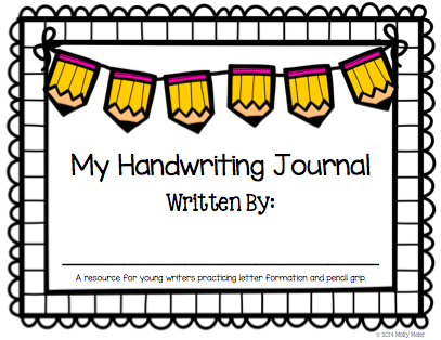 Handwriting Journal