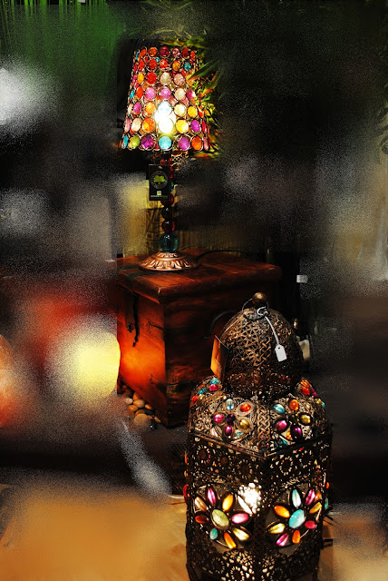lámparas morunas decoración