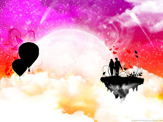 Love is in the Sky Love Wallpaper