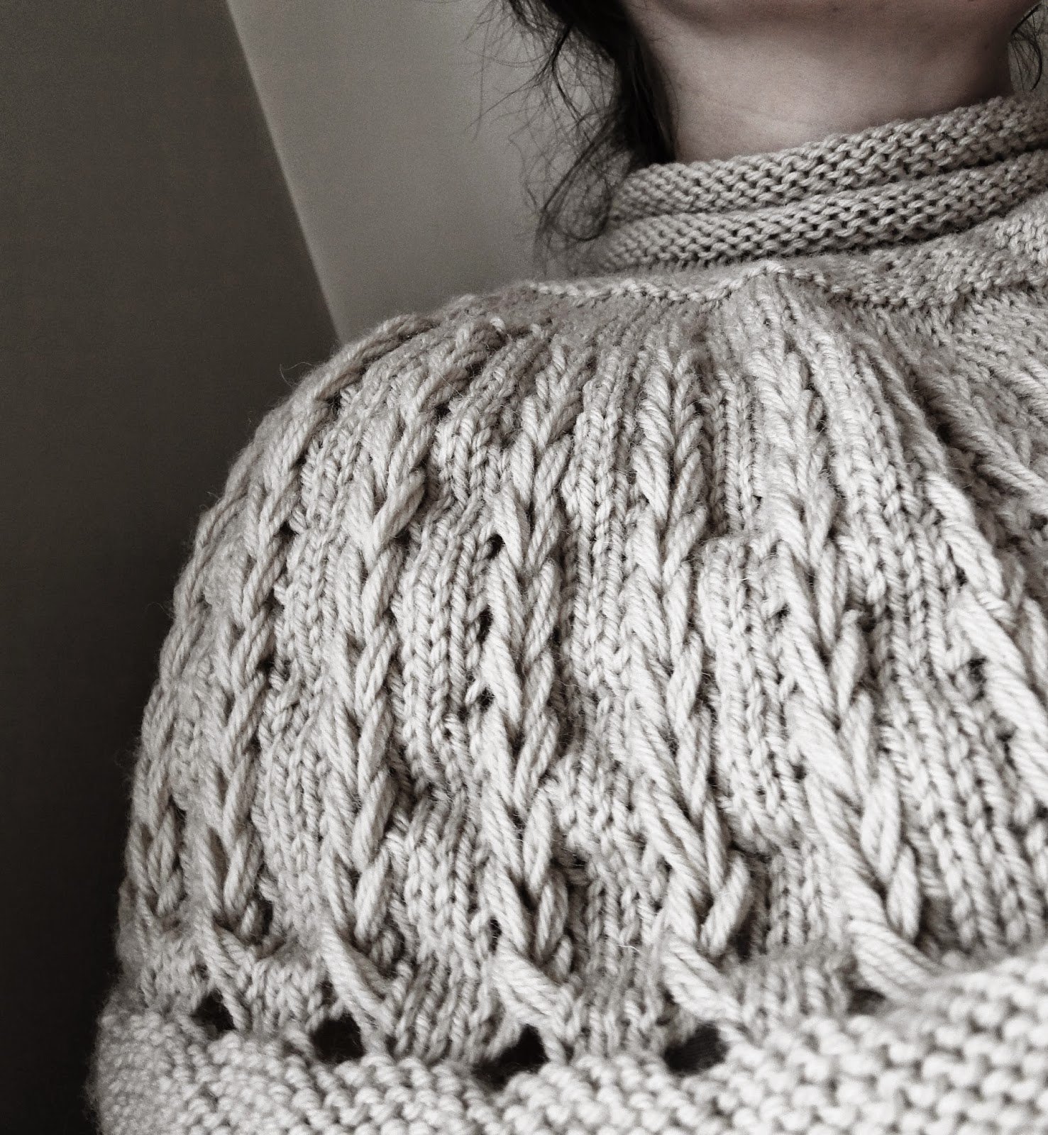 Mini Sweater Cowl Knitting pattern