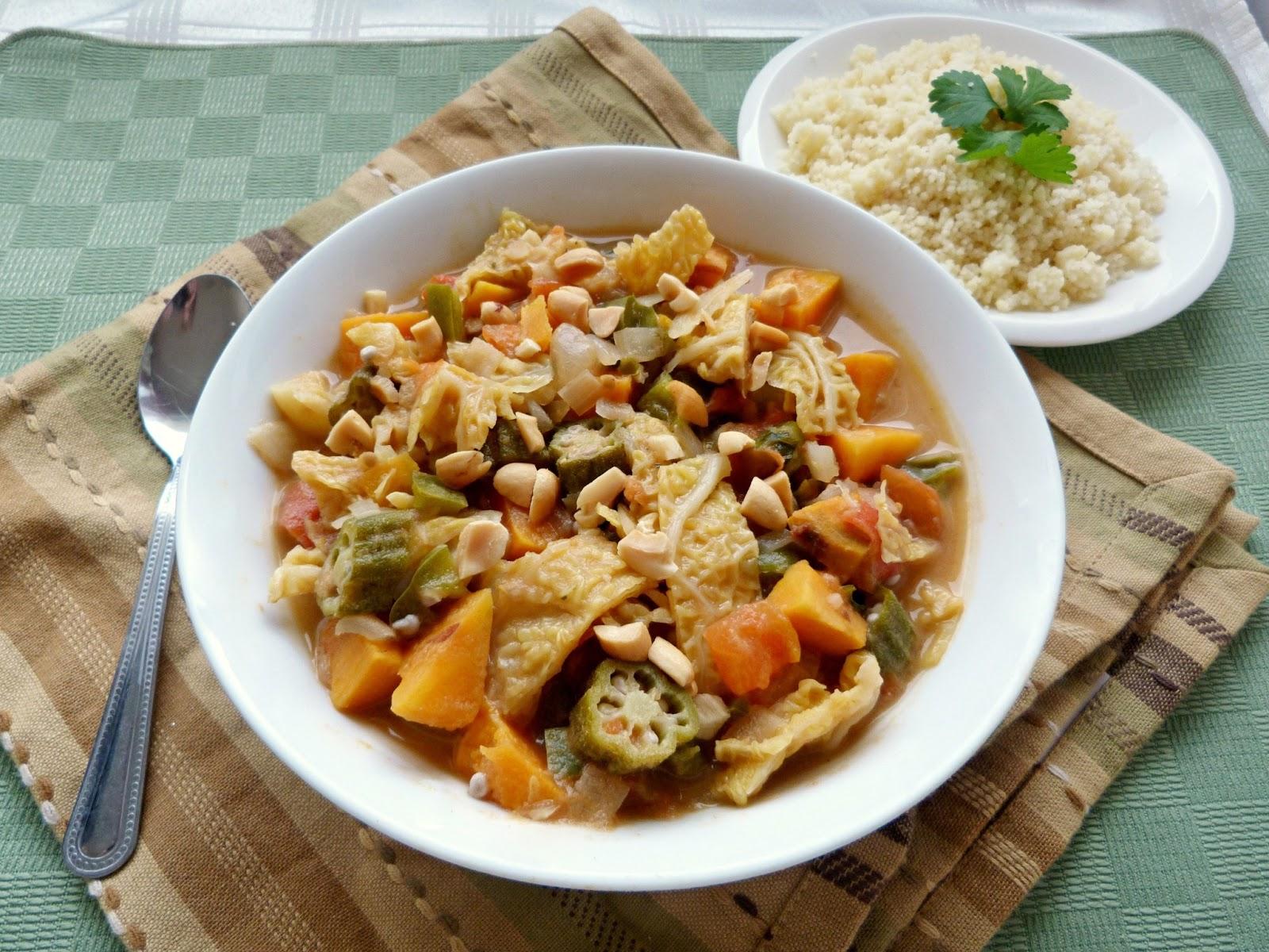 Vanilla & Spice: West African Vegetable Stew
