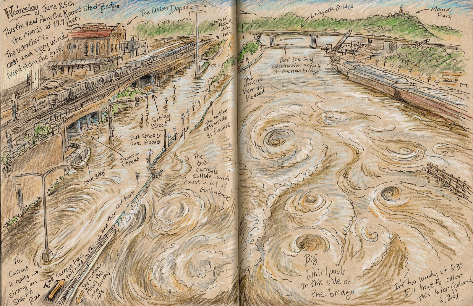http://urbansketchers-twincities.blogspot.com/2014/06/sketches-of-flooding-in-saint-paul-part_27.html